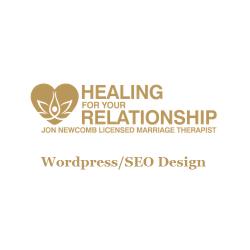 Healing For Your Relationship Wordpress/SEO Design